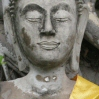 Seated buddha at Ayuthaya